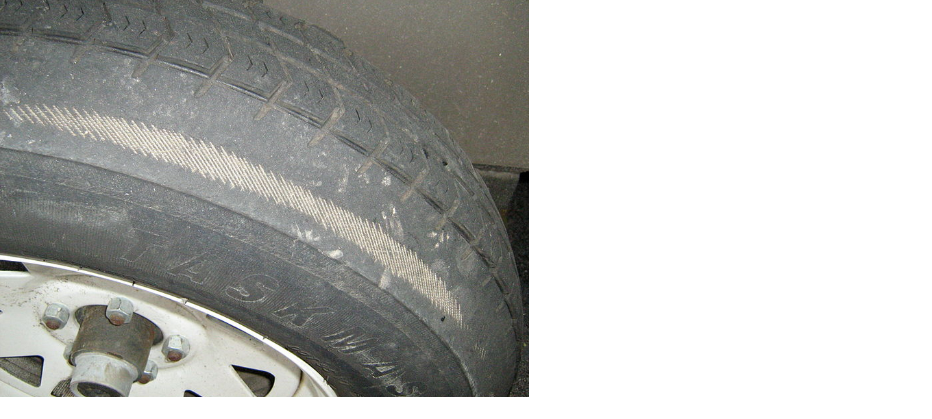 Un Even Tire Wear Due to Wrong Camber Setting