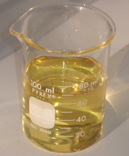 B100 Biodiesel Produced from WVO by Transesterification